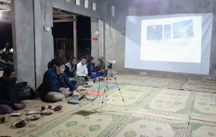 Penyuluhan Sistem Peringatan Dini Banjir di Dusun Wunut