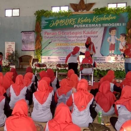Jambore Kader Kesehatan Puskesmas Imogiri 2