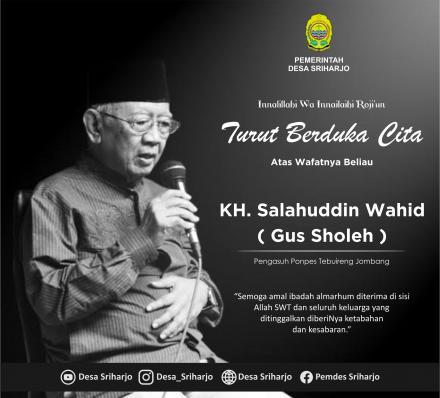Bela Sungkawa KH. Sholahuddin Wahid